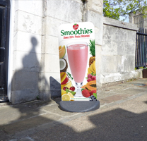 Ecoflex Totems for Love Smoothies