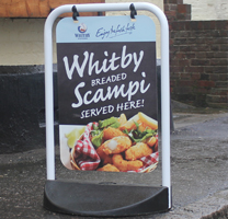 Eco Swingers for Whitby Seafoods
