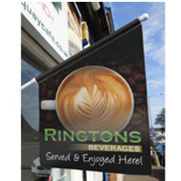 Noscrewz Flags and Ecoflex for Ringtons