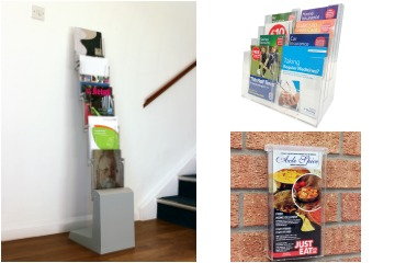 Leaflet and Brochure Holders Buyer Guide