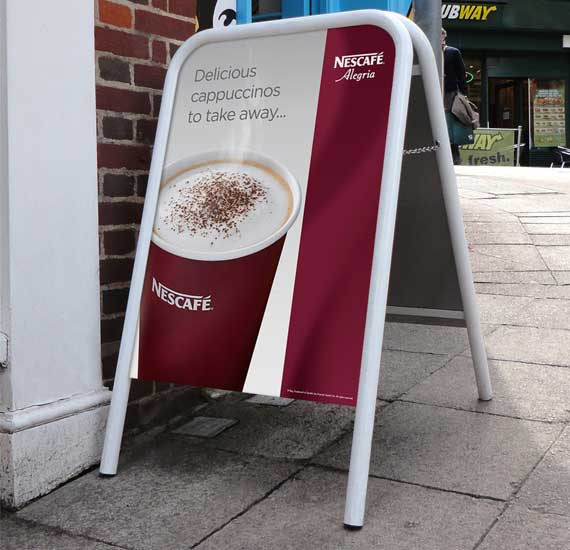 Pavement Signs and A-Boards | Signwaves | A Frame