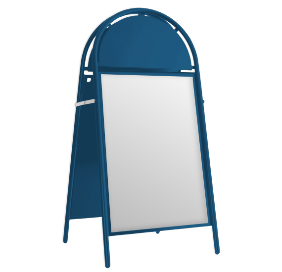Booster A-Board Gentian Blue RAL 5010