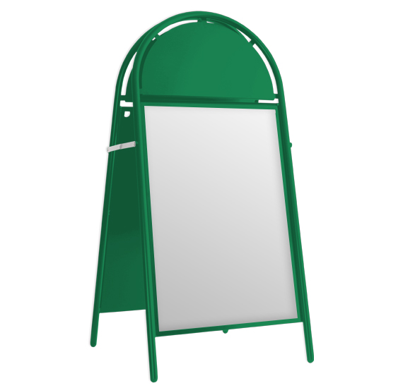 Booster A-Board Mint Green RAL 6029