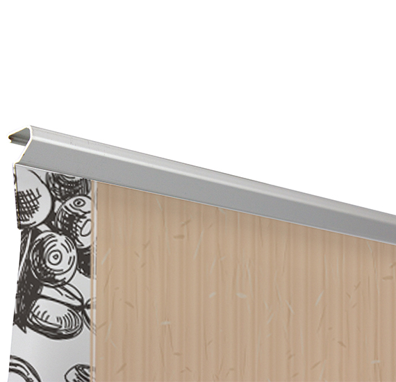 Eco Roll-Up Banner Adhesive Top Rail