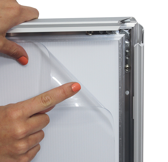 Lockable Snapframe Cover Sheet