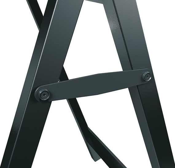 Locking Side Arms on Premier A-Board Frame