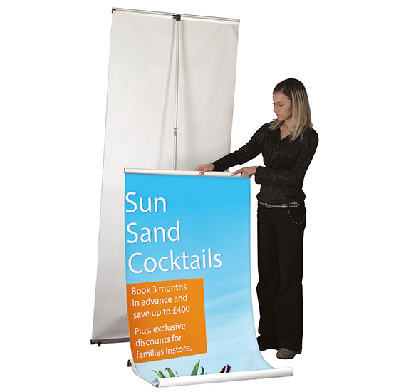 Quick Banner Double Sided Assembly