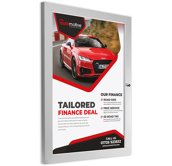 Automotive Slimlok Poster Case