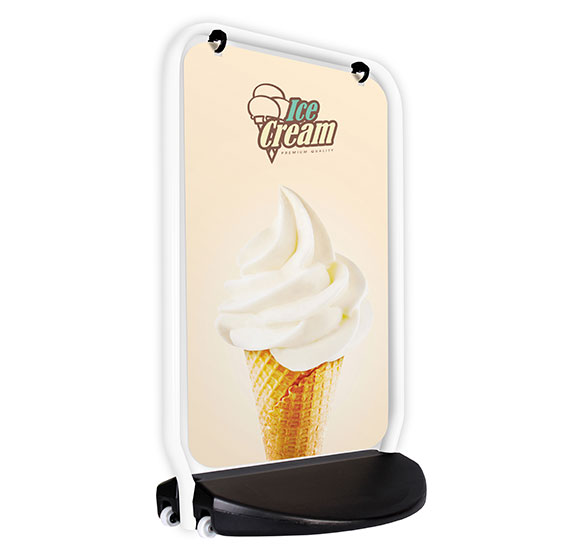 Swinger 4000 White Frame Panel Ice Cream