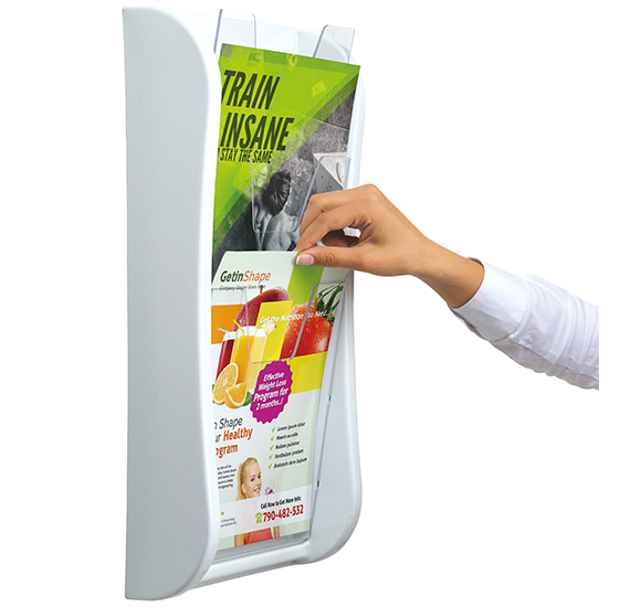 Wall Mounted Literature Dispenser