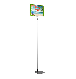 Green A4 Tall Landscape Showcard Stand
