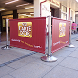 Café & Rope Barrier Systems