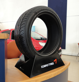 Beartrap Tyre Stand