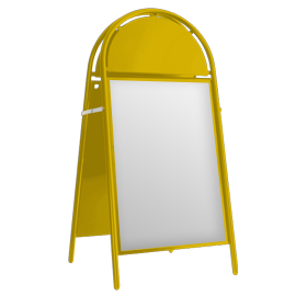 Booster A-Board Colza Yellow RAL 2021