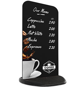 Ecoflex 2 Chalkboard Panel Coffee Menu