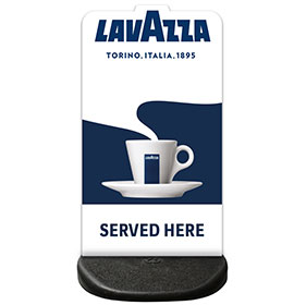 Ecoflex Custom Shape Panel Lavazza