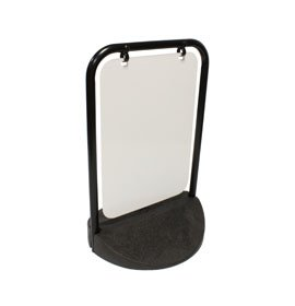Black Frame Eco Swinger Plain Panel