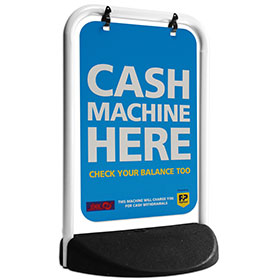 Eco Swinger White Frame Panel Cash Machine