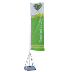 Giant Pole for Flying Banner