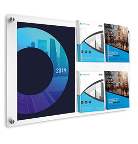 Acrylic Wall Mounted Information Displays