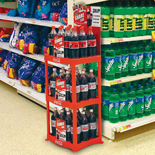 Tiered Product Display Racks