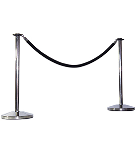 Pole & Rope Barrier