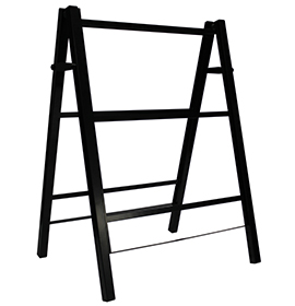 Premier A-Board Black Steel Frame