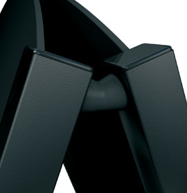 Premier Chalk A-Board Steel Rubber Hinges