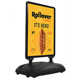 Sightmaster 3 Black Frame Rollover Hotdogs
