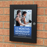 External Poster Displays
