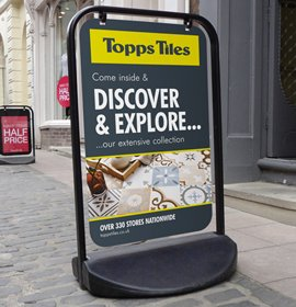 Panel Option Swinger 3000- Topps Tiles
