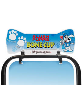 Custom Shaped Tactical Header- Slush Puppie