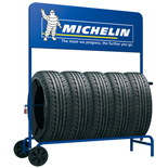 Tyre Trolley Display