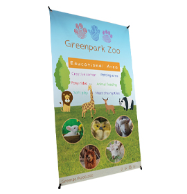 1200mm Wide X-Banner Banner Stand
