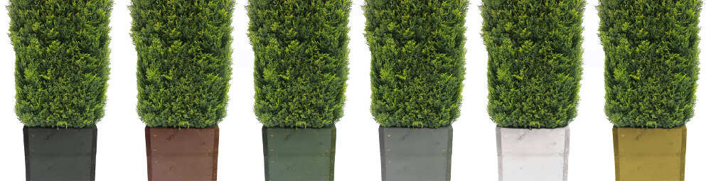 Artificial Hedging Trough Colourways